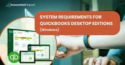 Understand quickbooks 2017 system requirements in detail
