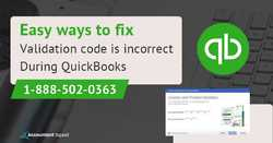 Steps to Fix QuickBooks Validation code is incorrect in QuickBooks