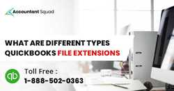 What are the types of QuickBooks File Extension?