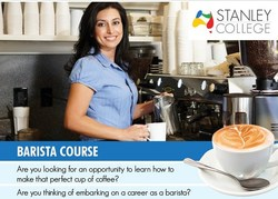 Make a perfect cup of coffee with our barista training course