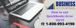 How to Fix QuickBooks Error 15215