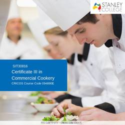 Accelerate your career dream with our cert 3 commercial cookery Perth.