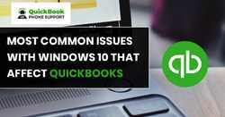 Recurring issues with Windows 10 that affect QuickBooks? +1-888-412-7852