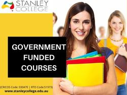 Grab the opportunity to study with government-funded course