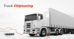 Built up appropriate ignition timing of truck through truck chip tuning