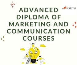 Build your career in Advanced Diploma of Marketing