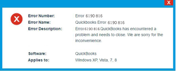 How to Fix QuickBooks Error 6190?