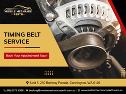 Get your Timing Belt service done by the best mobile auto care in Perth.