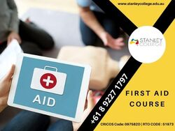 Work in a Health Community with our First Aid Course Perth.