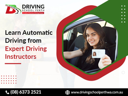Become a trained automatic driver and claim your driving license.