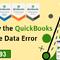 How To Fix Quickbooks Condense Data Error? - MadisonBusiness.us