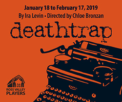 Ross Valley Players presents Deathtrap