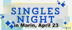 Singles Night in Marin