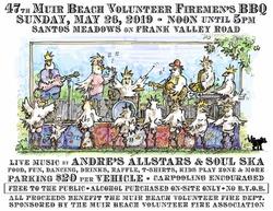 47th Annual Muir Beach Volunteer Firemen's Barbecue