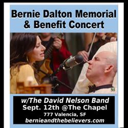 Bernie Dalton Memorial & Benefit Concert w/ David Nelson Band