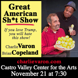 THE GREAT AMERICAN SH*T SHOWwith Brian Copeland and Charlie Varon