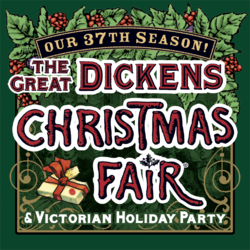 2019 The Great Dickens Christmas Fair & Victorian Holiday Party