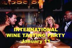 International Wine Tasting Party
