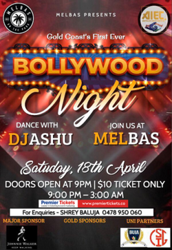 Gold Coast's Biggest - Bollywood NIGHT