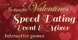 4 Valentine Speed Dating Parties!