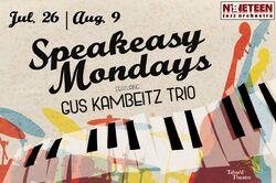 Speakeasy Mondays - Gus Kambeitz Trio