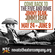 Novato Theater Company presents Come Back to the 5 and Dime, Jimmy Dean, Jimmy D