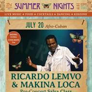 RICARDO LEMVO & MAKINA LOCA bring their Afro-Cuban Beats to Marin Summer Nights