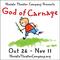 Novato Theater Company presents God of Carnage