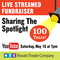 Sharing The Spotlight: Live Streamed Fundraiser Celebrating Novato Theater Compa