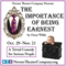 Novato Theater Company presents The Importance Of Being Earnest