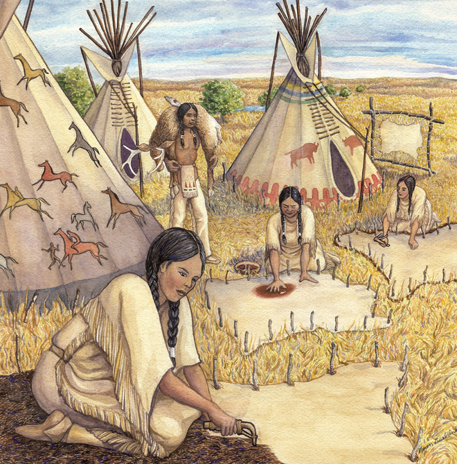 Sioux Tribe Facts For Kids